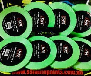 JTAPE GREEN FINE LINE MASKING TAPE 3mmX 55M
